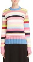 Kenzo Women's Tiger Crest Stripe Sweater