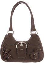 Prada Nubuck Shoulder Bag