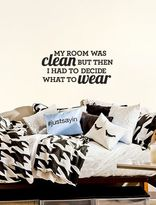 Dormify Clean Room Decal - Small