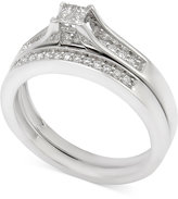 Macy's Diamond Bridal Set (1/4 ct. t.w.) in 14k White Gold