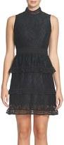 CeCe Women's Brea Tiered Lace Sheath Dress