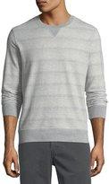 Billy Reid Striped Crewneck Sweatshirt