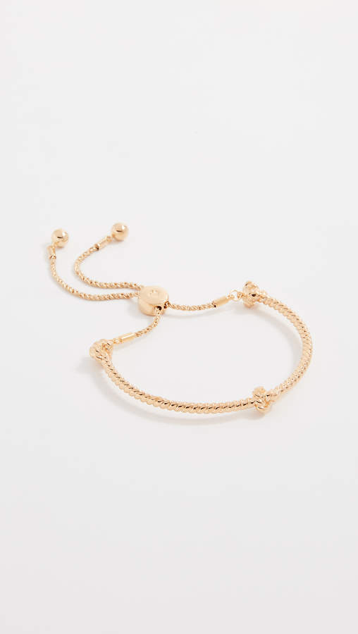 Kate Spade Sailor's Knot Knot Slider Bracelet