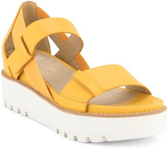 Eileen Fisher Luck Platform Sandal