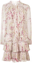 Zimmermann floral print dress - women - Silk/Polyester/Sinflex - 0