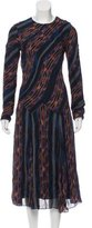 Proenza Schouler Silk Maxi Dress