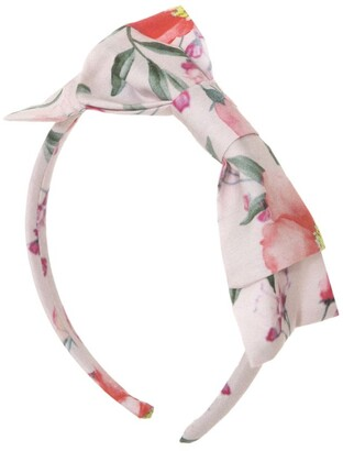Patachou Floral Bow Headband