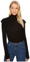 Joe's Jeans Turtleneck Top Women's Long Sleeve Pullover