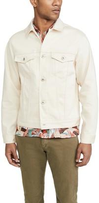 Naked & Famous Denim Natural Seed Denim Jacket