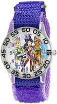 Disney Kids' W001676 Fairies Analog Display Analog Quartz Purple Watch