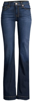 7 For All Mankind B(air) Dojo Mid-Rise Bootcut Jeans
