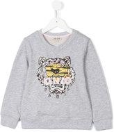 Kenzo embroidered lion sweatshirt