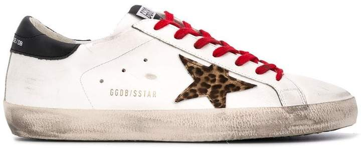 Golden Goose low-top lace-up sneakers
