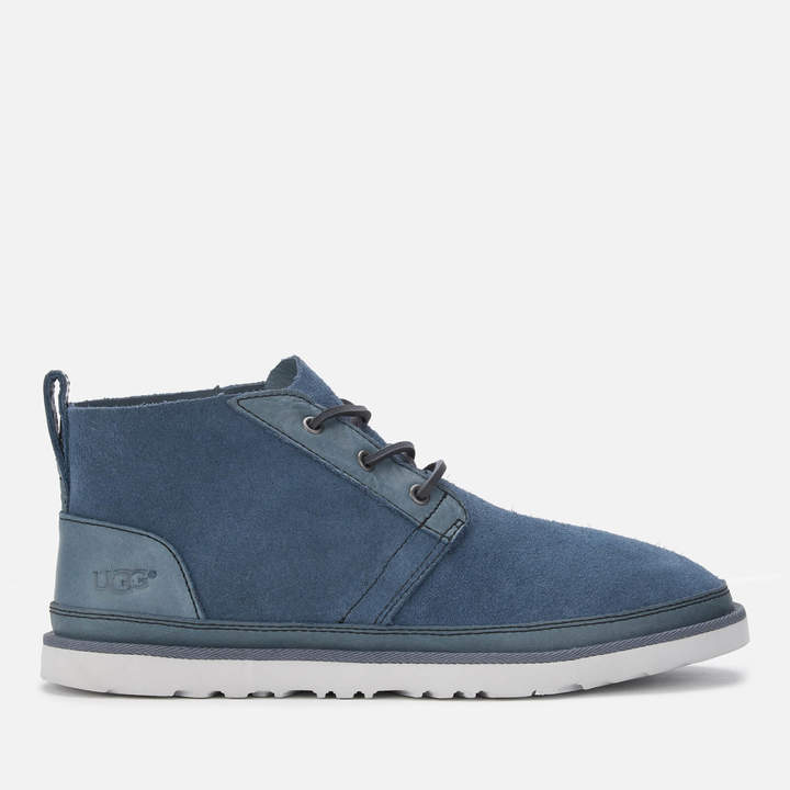 a5297b40875 Men's Neumel Unlined Leather Chukka Boots - Pacific Blue