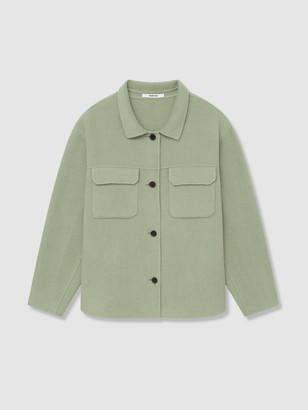 Thakoon Wool Blend Shirt Jacket
