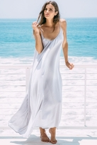 9seed 9 Seed Seychelles Maxi Cover-Up in Glacier