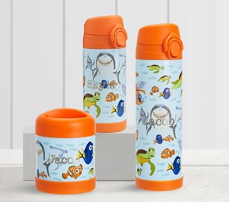 Pottery Barn Kids Mackenzie DisneyPixar Finding Nemo Glow-in-the-dark Hot & Cold Container
