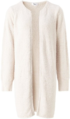 Missguided Popcorn Knit Cardigan Co-ord - Cream