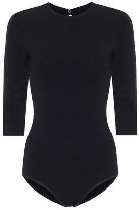 Alaia Stretch-knit bodysuit
