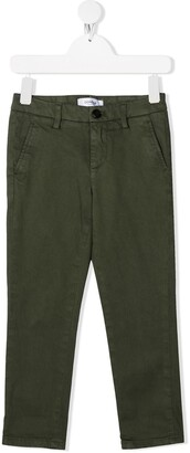 Dondup Kids Mid-Rise Chino Trousers