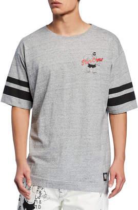 Scotch & Soda Men's Popeye's 90th Anniversary Brutus Graphic T-shirt