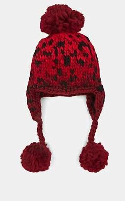 Eugenia Kim Women's Skye Knit Wool-Blend Trapper Hat - Red