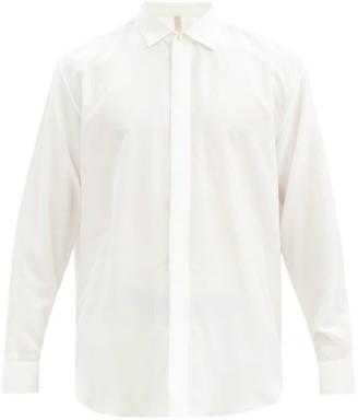 Aldo Maria Camillo - Double-cuff Silk Dress Shirt - Cream