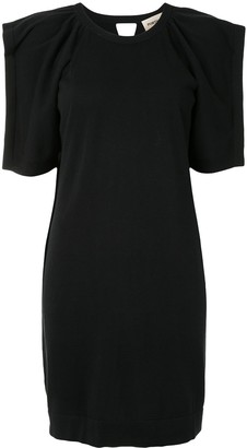 Portspure Slit Sleeve Shift Dress