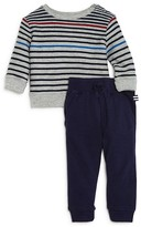Splendid Infant Boys' Multistripe Terry Top & Jogger Pants Set - Sizes 6-24 Months
