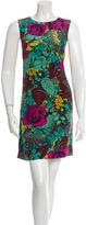 M Missoni Silk Floral Print Dress