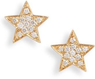 Bony Levy Simple Obsession Small Star Stud Earrings