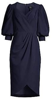 Aidan Mattox Women's Puff-Sleeve Cocktail Dress