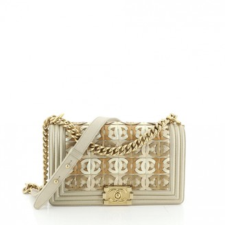 Chanel Boy Gold Leather Handbags
