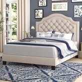 Andover Mills Julia Upholstered Panel Bed