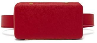 Lutz Morris Evan Grained Leather Belt Bag - Red