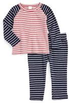 Nordstrom Infant Stripe T-Shirt & Pants Set