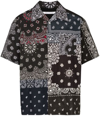 Children Of The Discordance Bandana Print Shirt