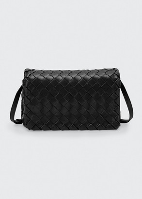Bottega Veneta New Olympia Mini Intrecciato Napa Shoulder Bag