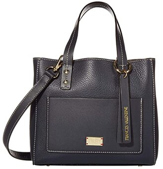 Frances Valentine Chloe Small Tote (Navy) Handbags