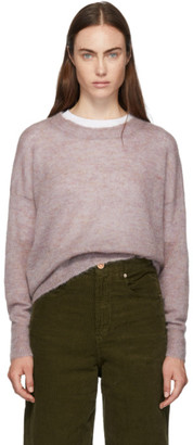 Etoile Isabel Marant Pink Cliftony Sweater
