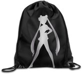 WBADLCW Sailor Moon Serena Platinum Style Drawstring Backpack Bag