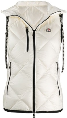 Moncler Logo Patch Quilted Gilet