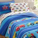 Olive Kids Trains, Planes & Trucks Bedding in Blue