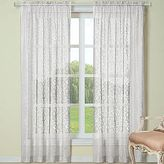 "Laura Ashley Beatrice Rod-Pocket 84"" Curtain Panel"