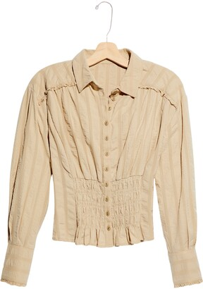 Free People Tammy Button-Up Blouse
