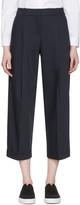 Jil Sander Navy Navy Woven Trousers