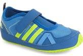 adidas 'Boat Plus' Shoe (Walker & Toddler)