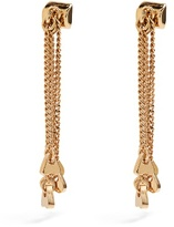 Chloé Meg fringed-drop earrings