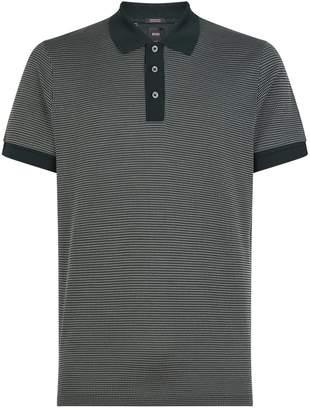 BOSS Cotton-Silk Polo Shirt
