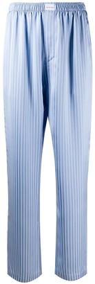 Balenciaga Blue Striped Pajama Pants